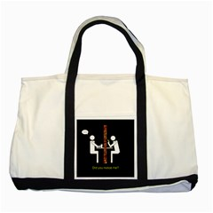 Pict Man Two Tone Tote Bag