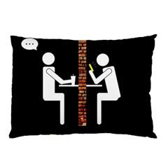 Pict Man Pillow Case