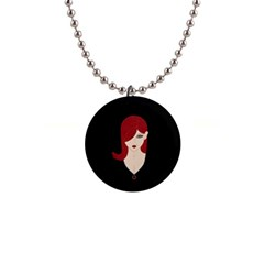 Picture Female Button Necklaces by AnjaniArt