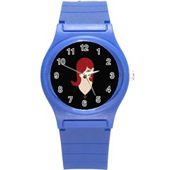 Picture Female Round Plastic Sport Watch (s) by AnjaniArt