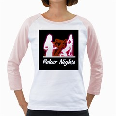 Poker Night Girly Raglans