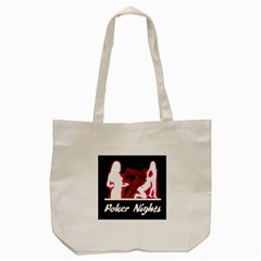 Poker Night Tote Bag (cream)