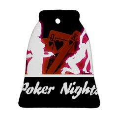 Poker Night Bell Ornament (2 Sides) by AnjaniArt