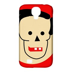 Face Samsung Galaxy S4 Classic Hardshell Case (pc+silicone) by Valentinaart