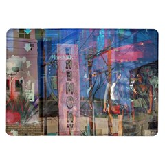 Las Vegas Strip Walking Tour Samsung Galaxy Tab 10 1  P7500 Flip Case by CrypticFragmentsDesign