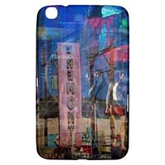 Las Vegas Strip Walking Tour Samsung Galaxy Tab 3 (8 ) T3100 Hardshell Case  by CrypticFragmentsDesign