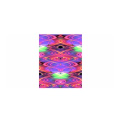 Neon Night Dance Party Pink Purple Satin Wrap by CrypticFragmentsDesign