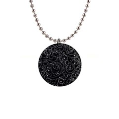 Black And White Magic Button Necklaces by Valentinaart