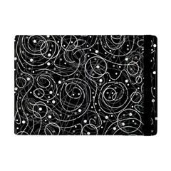 Black And White Magic Apple Ipad Mini Flip Case by Valentinaart