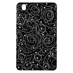 Black And White Magic Samsung Galaxy Tab Pro 8 4 Hardshell Case by Valentinaart