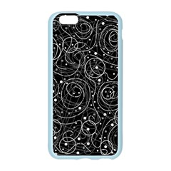 Black and white magic Apple Seamless iPhone 6/6S Case (Color) by Valentinaart