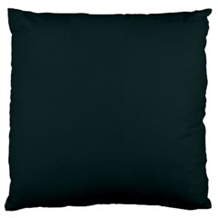 Nordic Blue Colour Large Flano Cushion Case (Two Sides) by artpics
