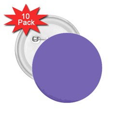 Moody Blue Colour 2.25  Buttons (10 pack)  by artpics