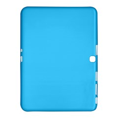 Maya Blue Colour Samsung Galaxy Tab 4 (10.1 ) Hardshell Case  by artpics