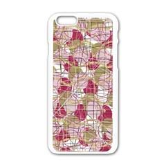 Decor Apple Iphone 6/6s White Enamel Case by Valentinaart
