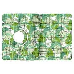 Gray decorative abstraction Kindle Fire HDX Flip 360 Case