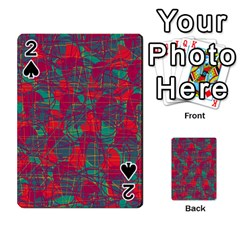 Decorative Abstract Art Playing Cards 54 Designs