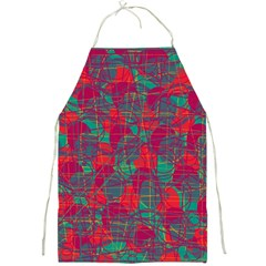 Decorative Abstract Art Full Print Aprons by Valentinaart