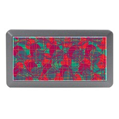 Decorative Abstract Art Memory Card Reader (mini) by Valentinaart