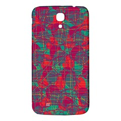 Decorative Abstract Art Samsung Galaxy Mega I9200 Hardshell Back Case by Valentinaart