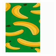 Banana Fruit Pattern Large Garden Flag (Two Sides) by artpics