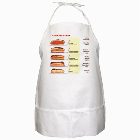 Steak Apron By David   Bbq Apron   Wq0s41gdpf05   Www Artscow Com Front