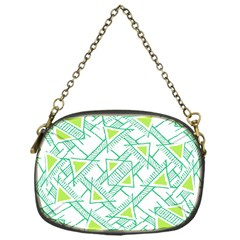 Ethnic Geo Pattern Chain Purses (one Side)  by dflcprints