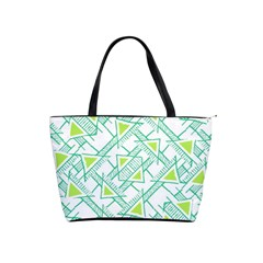Ethnic Geo Pattern Shoulder Handbags by dflcprints