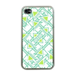 Ethnic Geo Pattern Apple Iphone 4 Case (clear) by dflcprints