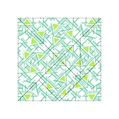 Ethnic Geo Pattern Acrylic Tangram Puzzle (4  X 4 ) by dflcprints
