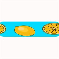 Lemon Fruit Pattern Large Bar Mats by artpics