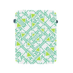 Ethnic Geo Pattern Apple Ipad 2/3/4 Protective Soft Cases by dflcprints
