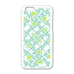 Ethnic Geo Pattern Apple Iphone 6/6s White Enamel Case by dflcprints