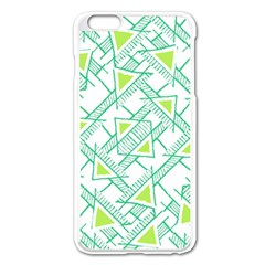 Ethnic Geo Pattern Apple Iphone 6 Plus/6s Plus Enamel White Case by dflcprints