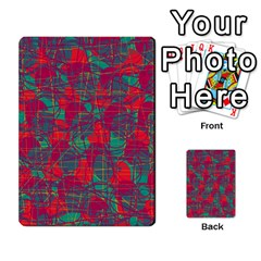 Decorative Abstract Art Multi Purpose Cards (rectangle)