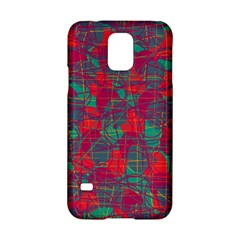 Decorative Abstract Art Samsung Galaxy S5 Hardshell Case  by Valentinaart