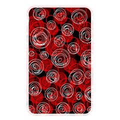 Red Abstract Decor Memory Card Reader by Valentinaart
