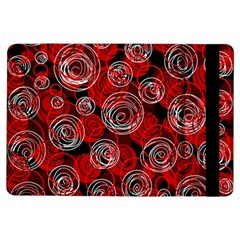 Red abstract decor iPad Air Flip by Valentinaart