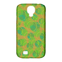 Green Decorative Art Samsung Galaxy S4 Classic Hardshell Case (pc+silicone) by Valentinaart