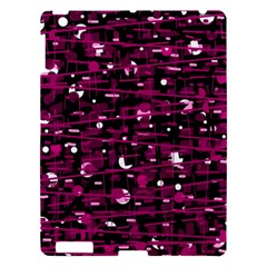 Magenta Abstract Art Apple Ipad 3/4 Hardshell Case by Valentinaart