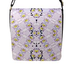 Kratom Fou  Flap Messenger Bag (l)  by MRTACPANS