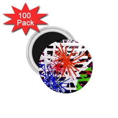 Colorful Big Bang 1 75  Magnets (100 Pack)  by Valentinaart