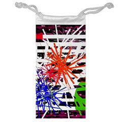Colorful Big Bang Jewelry Bags by Valentinaart