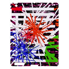Colorful Big Bang Apple Ipad 3/4 Hardshell Case by Valentinaart