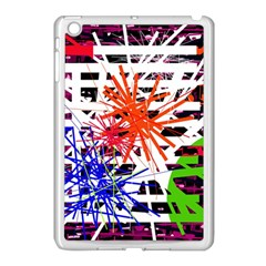 Colorful Big Bang Apple Ipad Mini Case (white) by Valentinaart