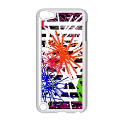Colorful Big Bang Apple Ipod Touch 5 Case (white) by Valentinaart