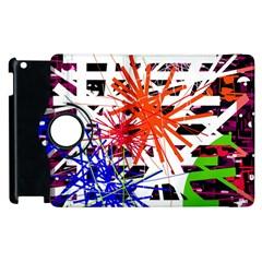Colorful Big Bang Apple Ipad 2 Flip 360 Case by Valentinaart