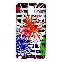 Colorful Big Bang Samsung Galaxy Note 3 N9005 Hardshell Case by Valentinaart