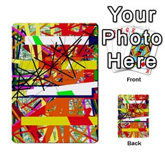 Colorful Abstraction By Moma Multi Purpose Cards (rectangle)