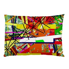 Colorful Abstraction By Moma Pillow Case (two Sides)